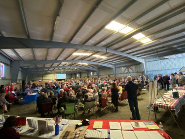 Dr. Frank Event  A Huge Success in Skagit!