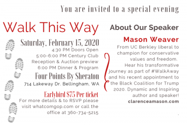 Whatcom Republicans Lincoln Day Gala & Auction