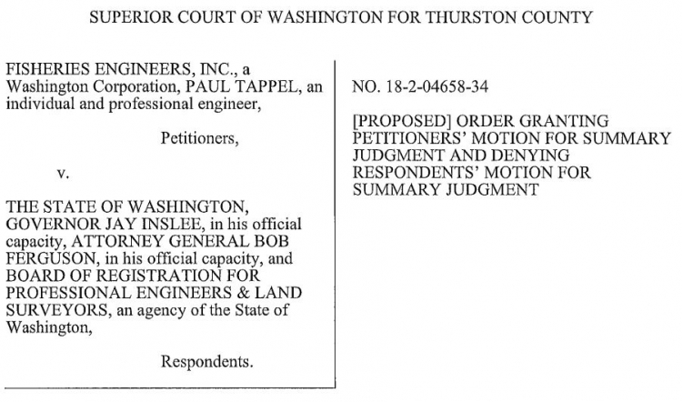 LEGAL VICTORY AGAINST INSLEE REQUIRES ARTICLES OF IMPEACHMENT!