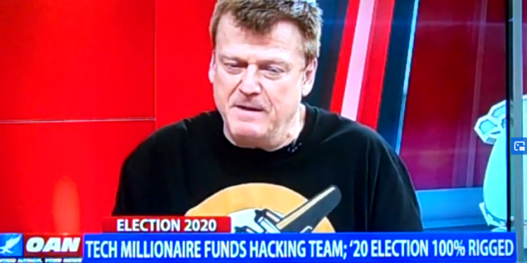 "Tech Millionaire Funds Hacking Team, ""Says Election 100% Rigged."" ""Not Even close"""