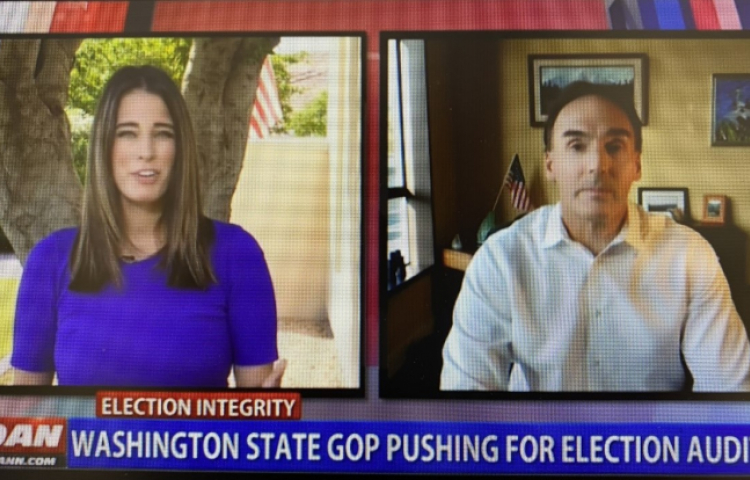 OAN VIDEO: Washington State GOP pushing for election audits