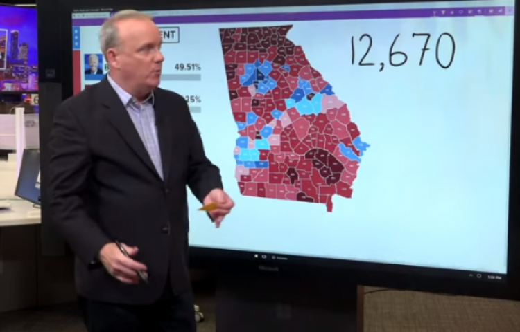 Over 168,000 ballots in Cobb County, Georgia, missing required chain of custody documentation.