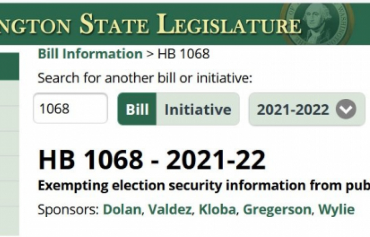 Washington State Democrats Propose Legislation to Ensure They Win All Future Elections and Prevent Any Public Disclosure of Fraud Embedded in the Process